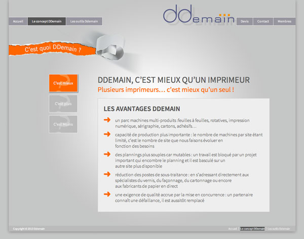 Site Ddemain - Ondi