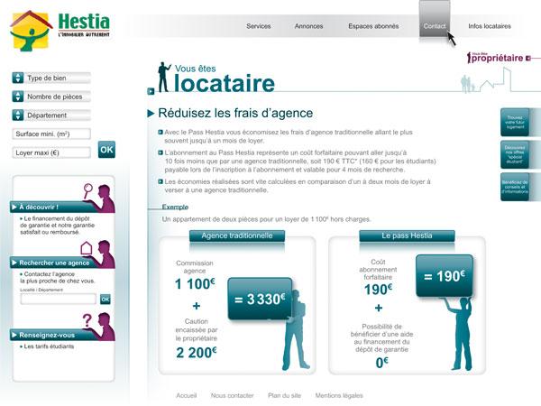 Site Hestia - Ondi