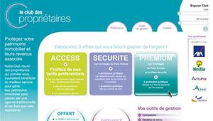 Club Propriétaire - Web